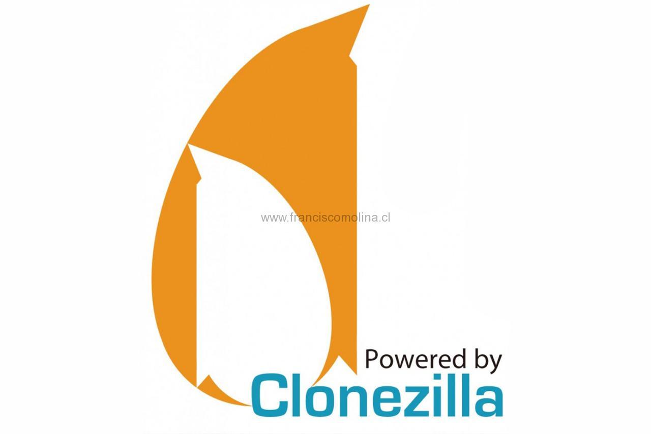 Crea una copia de seguridad con Clonezilla