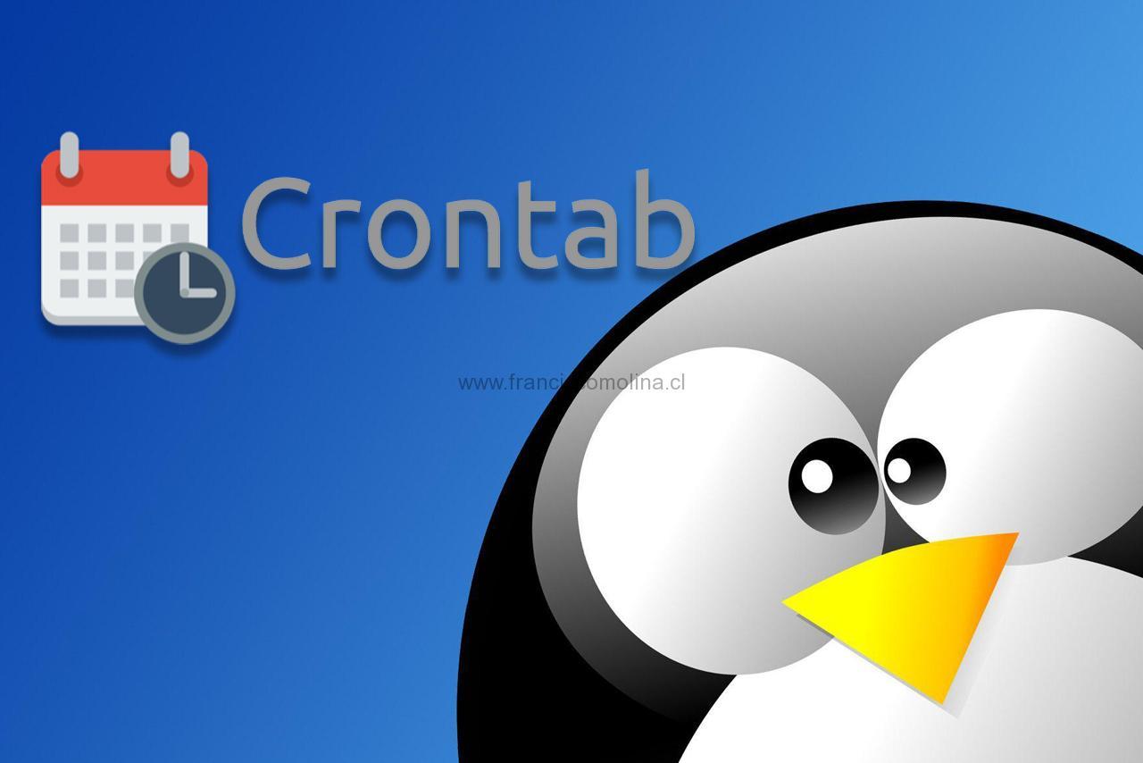 Utilización de cron en linux
