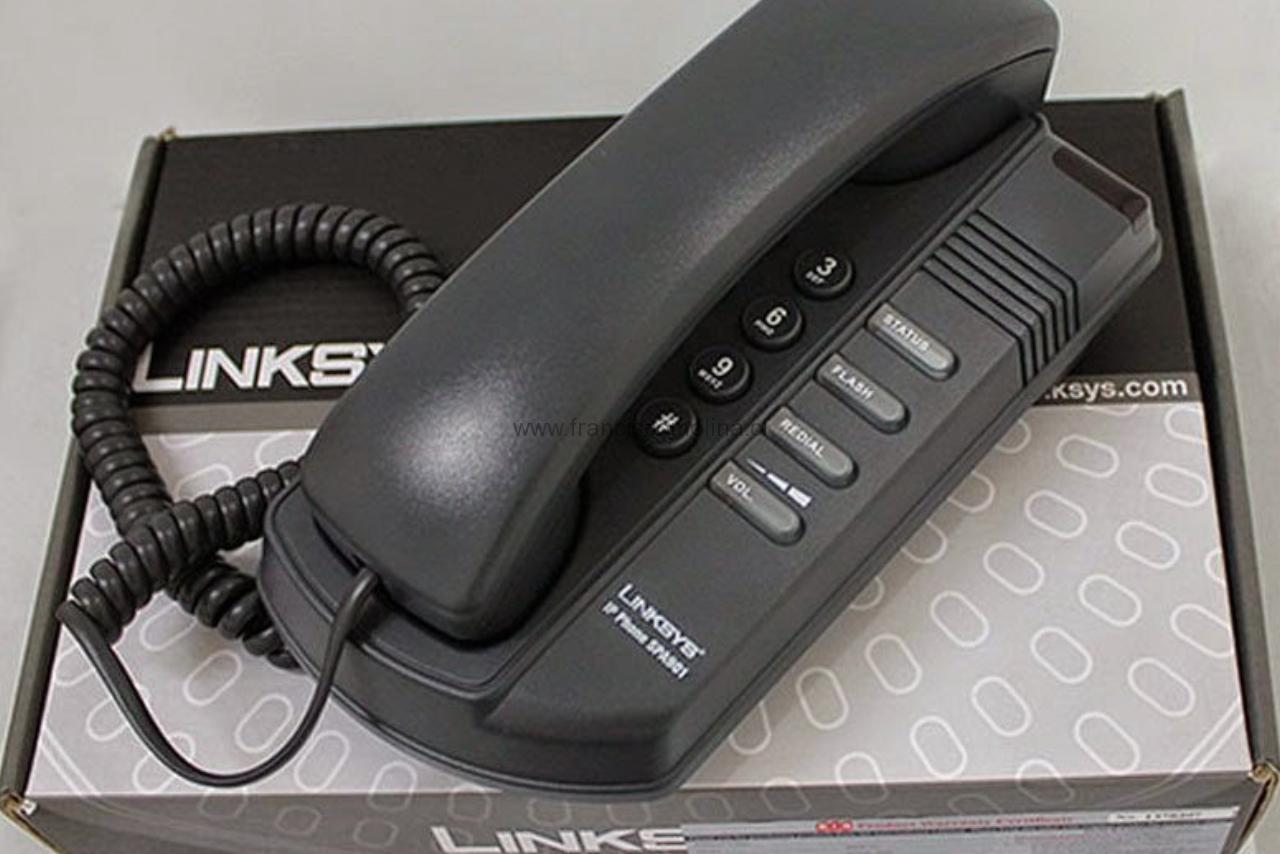 Configuracion IP Phone SPA901