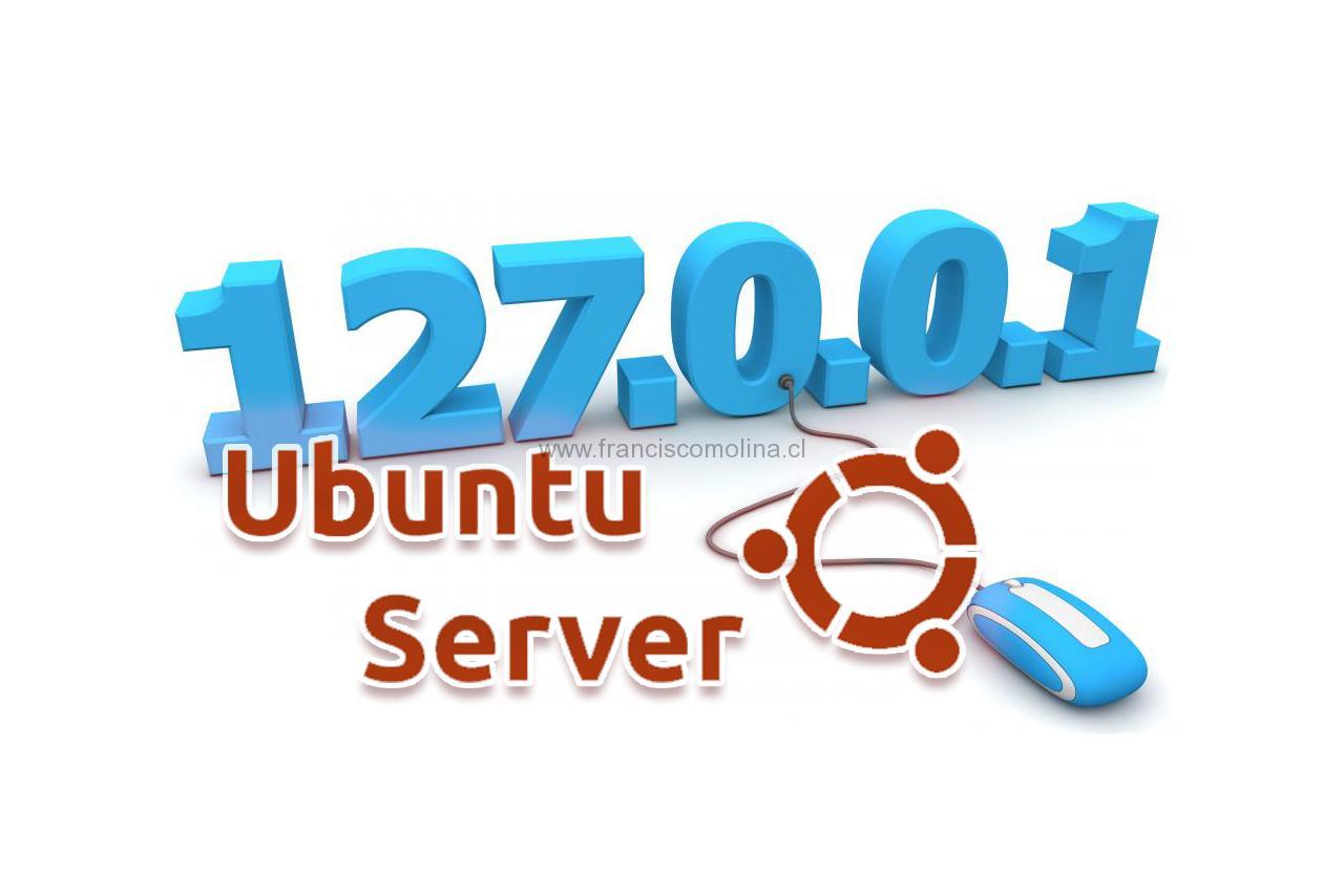 Configurar IP estática en Ubuntu Server
