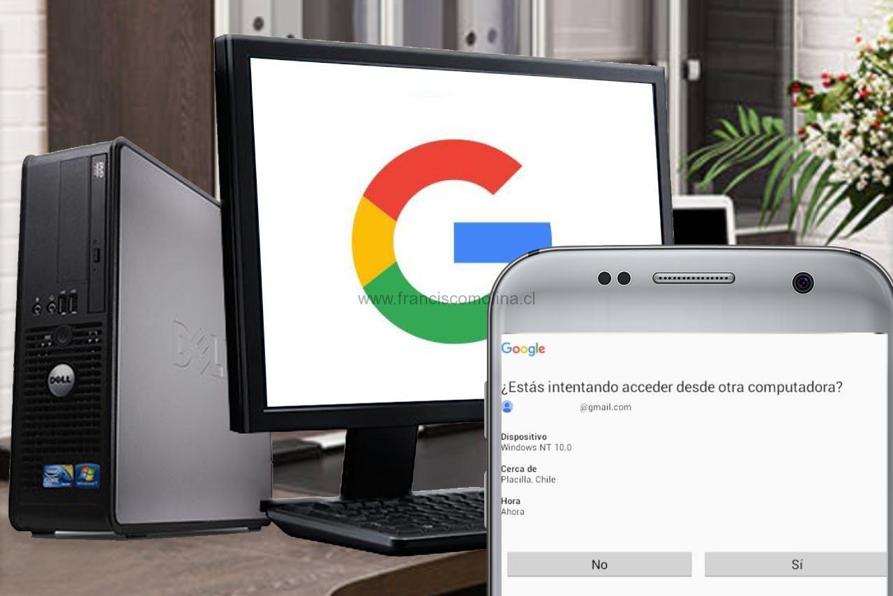 Verificación en 2 pasos de Google
