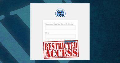 Bloquear el acceso al panel de administración WP
