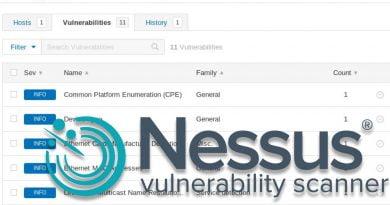 escaneo de vulnerabilidades con Nessus