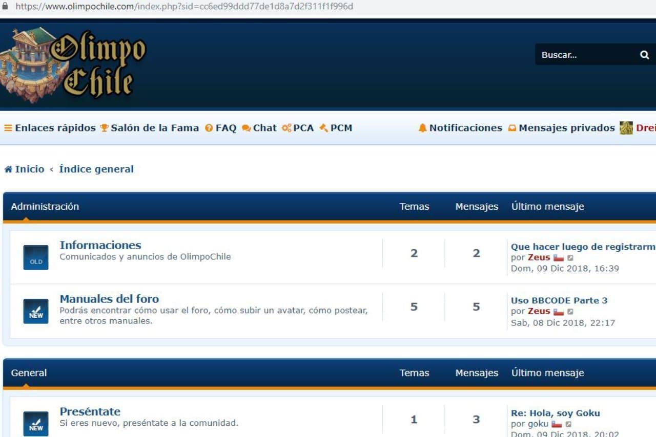 Foro Olimpo Chile