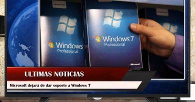 Microsoft dejará de dar soporte a Windows 7
