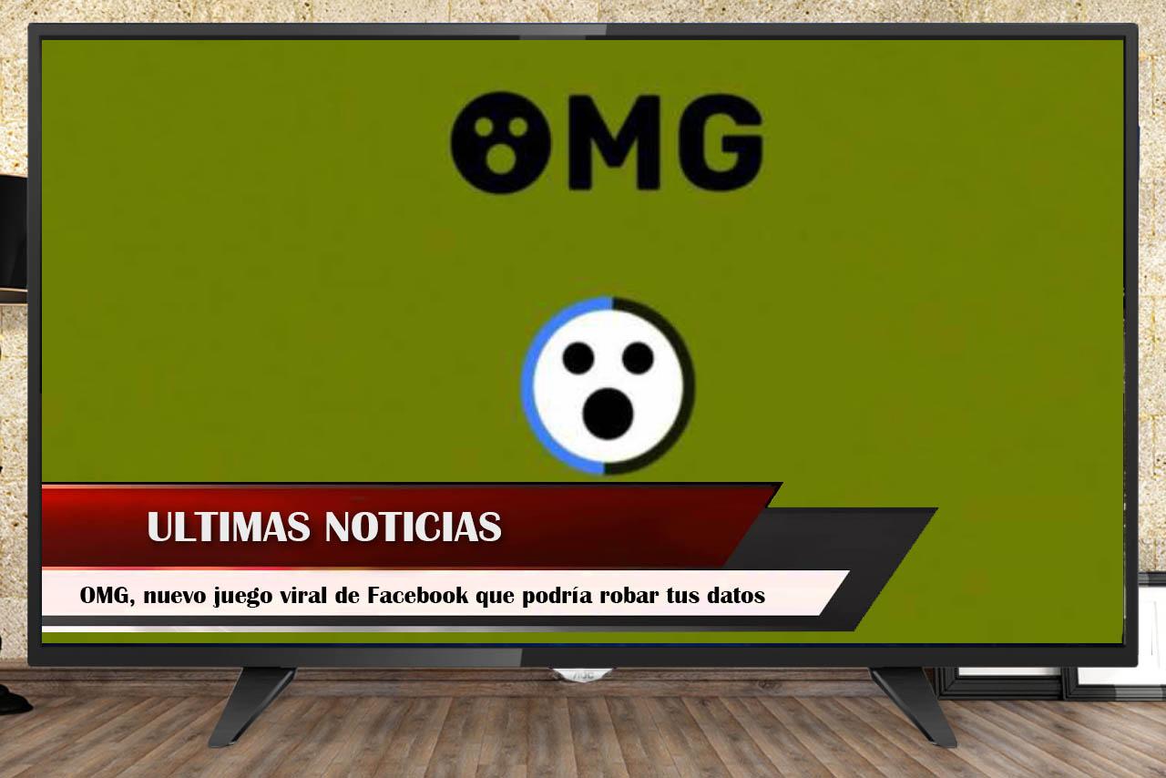 OMG, nuevo juego viral de Facebook que podría robar tus datos