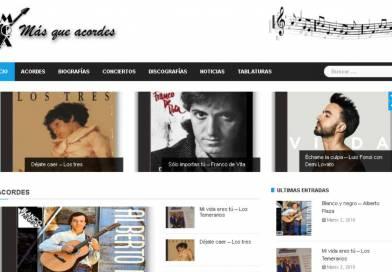 Nueva página web: masqueacordes.cl