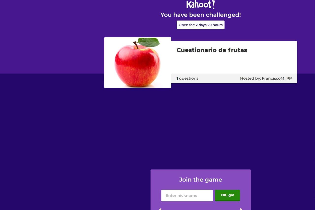Crear un cuestionario entretenido con Kahoot