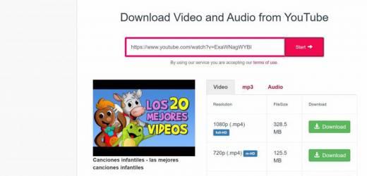Descargar videos de Youtube y otras páginas